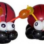 Ballonfiguren-Marienkaefer