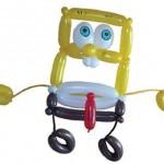 Ballonfiguren-Spongebob