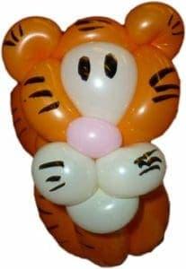 Tiger Luftballonfiguren