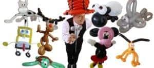 Ballonfiguren Autohaus