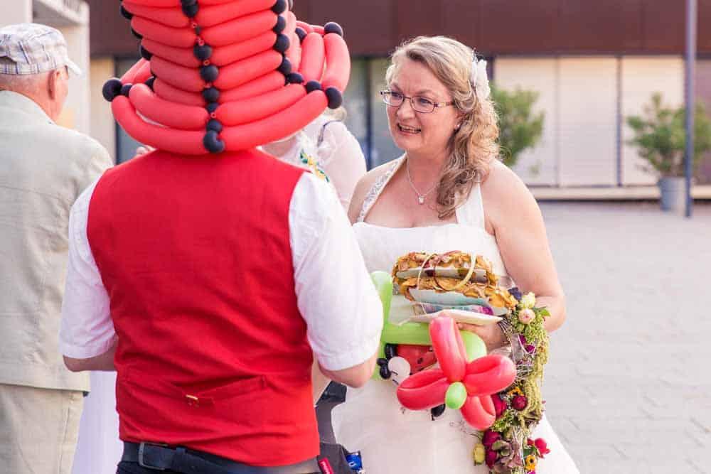 Ballonkünstler für Hochzeit, Geburtstag und andere Anlässe